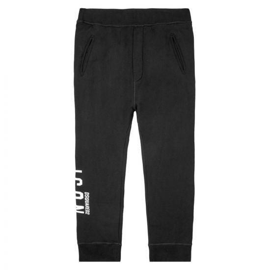 DSquared Sweatpants – Black / White 21254CP 0