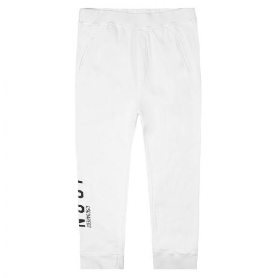 DSquared Sweatpants – White 21257CP -1