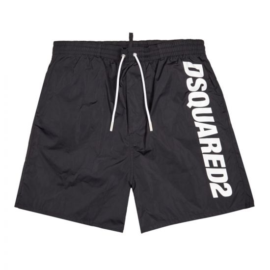 dsquared swim shorts D7N582920 010 black