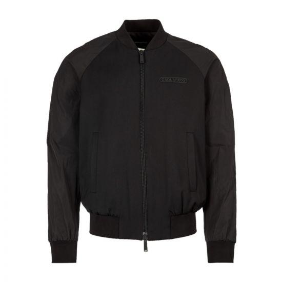 DSquared Jacket S74AM0969 S36258 900 Black