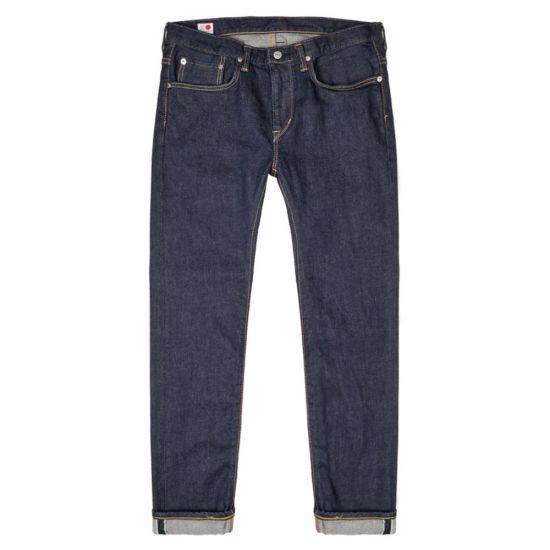 Edwin Jeans Slim Tapered I027657 01 02 Kaihara Indigo