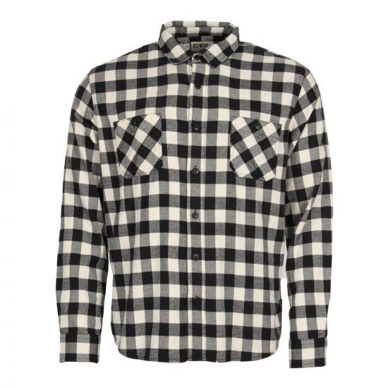 Edwin, Labour Shirt I024165 3E 67 03, Off White/Black