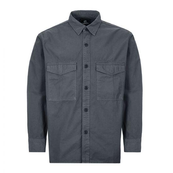 edwin shirt big I027886 EBNGD 03 grey