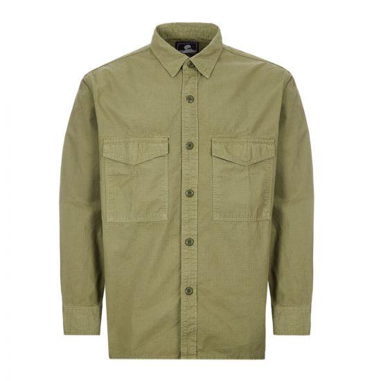 edwin shirt big I027886 134 GD 03 military green