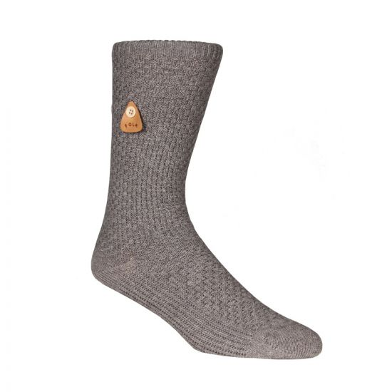 Waffle Socks - Grey