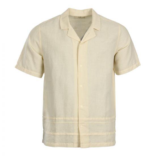 Folk Horizon Shirt FM440S in Soft Yellow