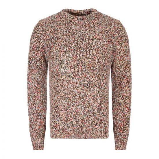 Folk Knitted Jumper | FM5256K AUT Autumnal Mix