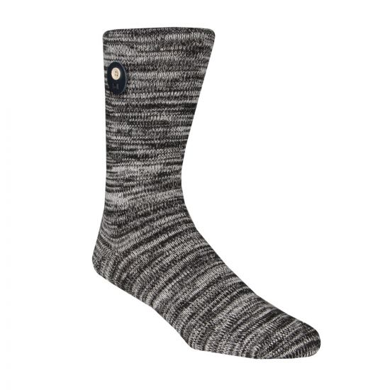 Folk Melage Sock FM372A-BLK In Black