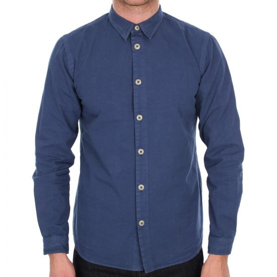 Folk Hush Shirt in Blue