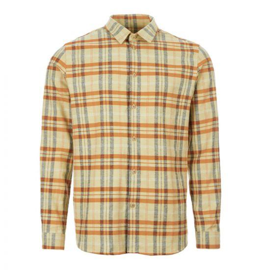 Folk Shirt   FP5307S Fawn Check