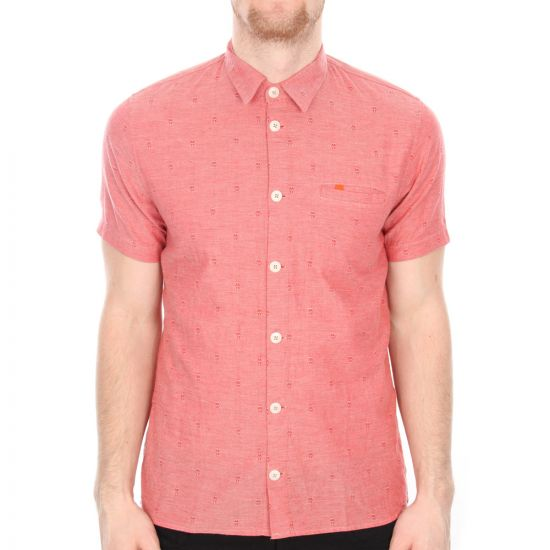 folk red shirt