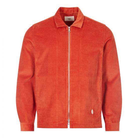 folk signal jacket FM5402W RED brick red