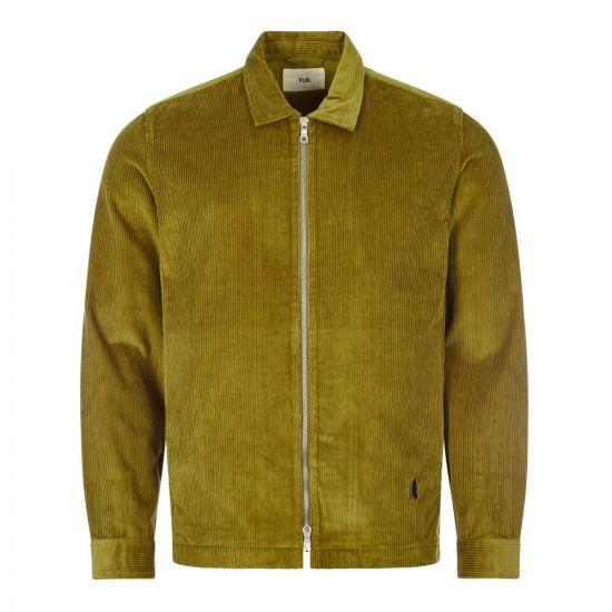 folk signal jacket FM5402W TOB tobacco