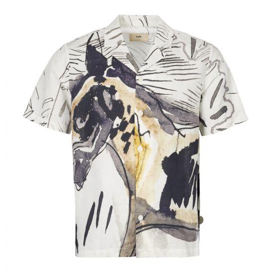 Folk Short Sleeve Shirt FP5217S ORP In Orpheus Print