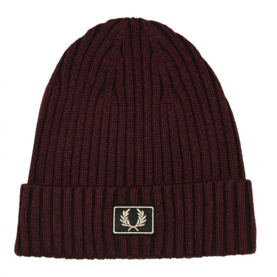 fred perry beanie C2100 D33 wine