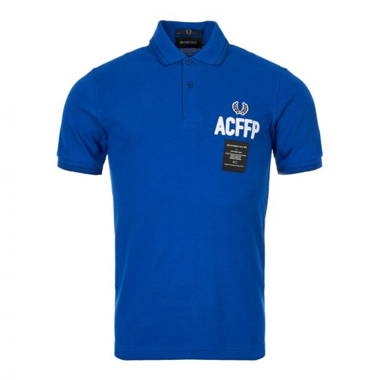 Fred Perry Art Comes First Polo SM5120 919 Regal Blue