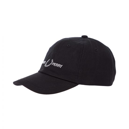 Fred Perry Cap HW7640 102 Black