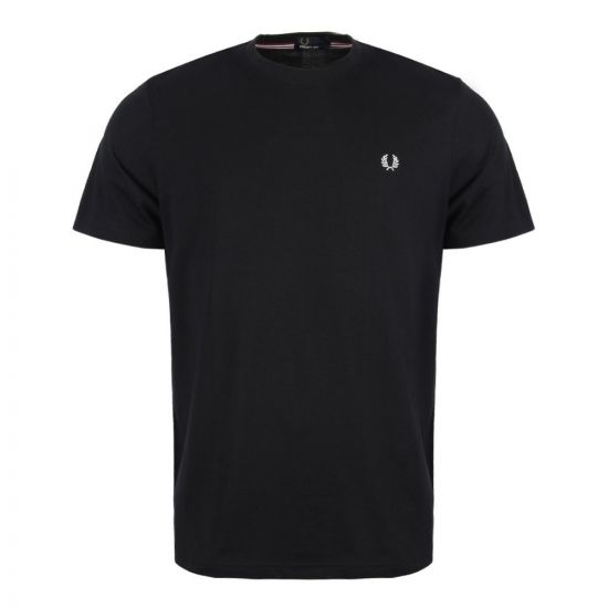 Fred Perry T Shirt Navy Crew Neck M6334 248