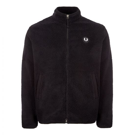 Fred Perry Jacket Fleece | J7545 102 Black