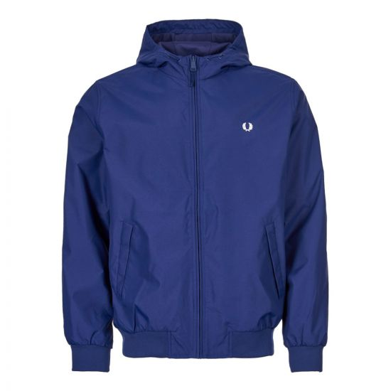 Fred Perry Hooded Brentham Jacket J5513 600 Sapphire Blue
