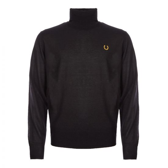 Fred Perry Miles Kane Jumper Roll Neck | SK7015 102 Black