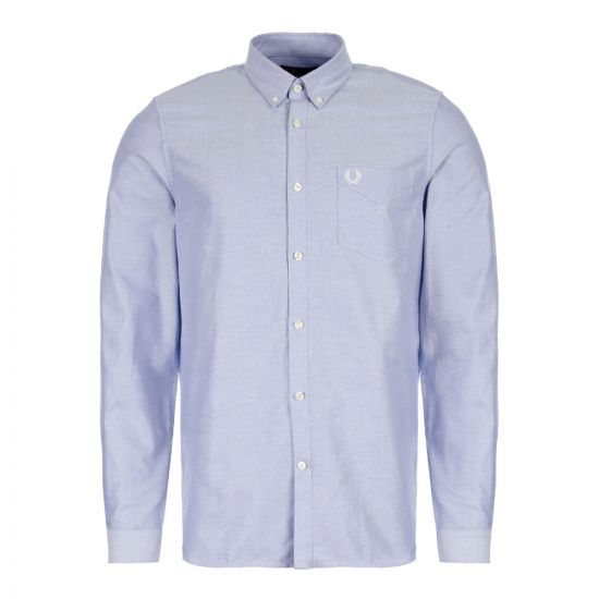Fred Perry Oxford Shirt Light Smoke M6379