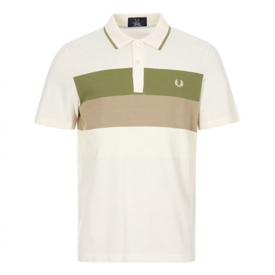 fred perry polo shirt M8805 560 ecru