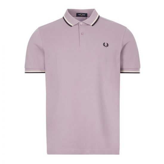 fred perry polo shirt twin tipped M3600 K95 lavender