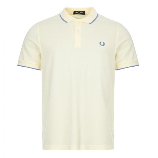 fred perry twin tipped polo shirt M3600 J87 buttered icing
