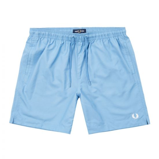 fred perry swim shorts S8506 J86 riviera blue