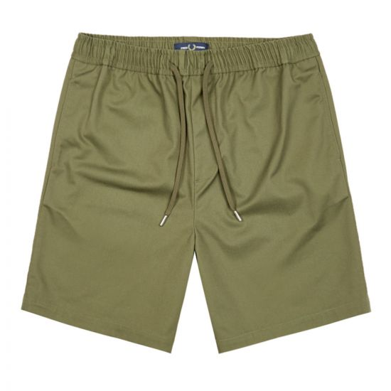 Fred Perry Shorts | S8500 B57 Military Green