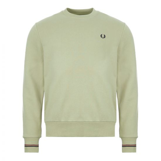 Fred Perry Sweatshirt - Green 22114CP -1