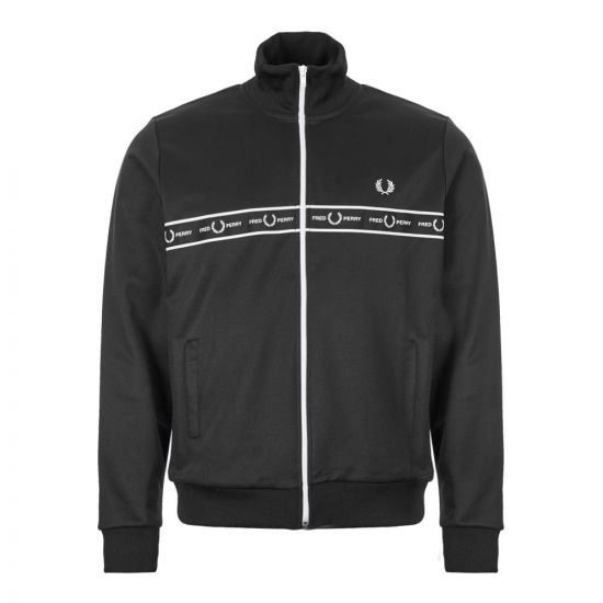 Track Jacket Taped - Black