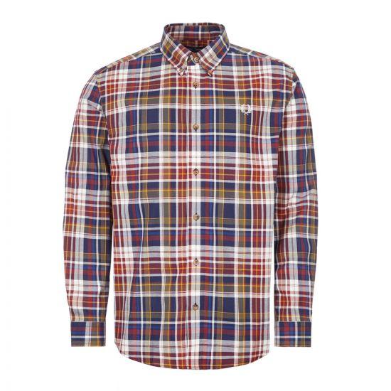 fred perry shirt check | M8582 608 tartan