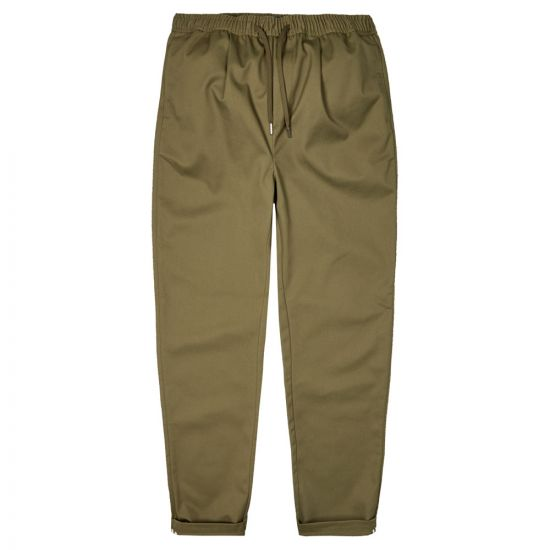 fred perry trousers drawstring | T8502 B57 military green