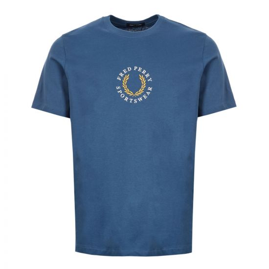 fred perry t-shirt M6621 963 midnight blue