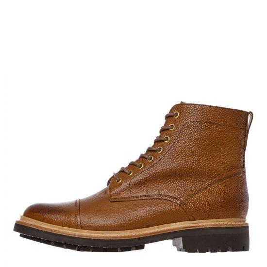 grenson joseph boots 112376 tan