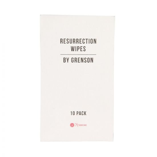 Grenson Resurrection Wipes 310051 10 Pack