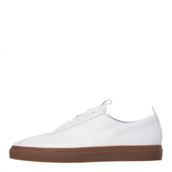 grenson sneaker 1 112455 white
