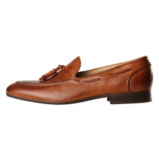 H by Hudson Loafers Pierre Tan Leather