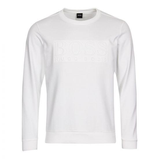 BOSS Hugo Boss Heritage Sweatshirt 50388904 100 White