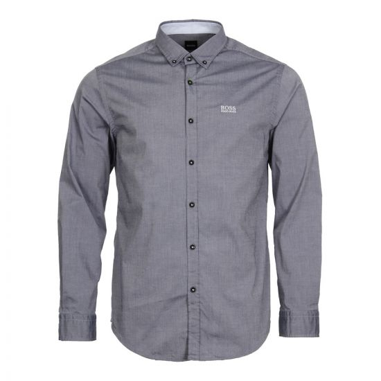 BOSS Green Shirt 50388204 480 In Open Blue Grey