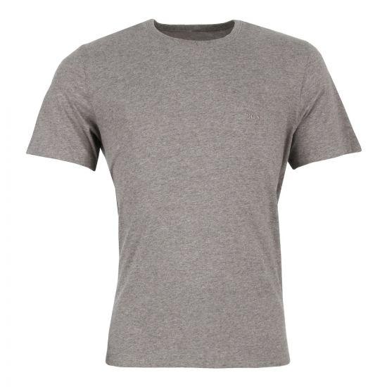 hugo boss t shirt in grey