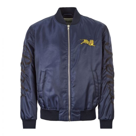 Kenzo Bomber Jacket F965BL1911NB|76 In Navy At Aphrodite Clothing