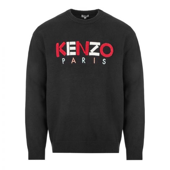 Kenzo Jumper Paris - Black 21911CP -1