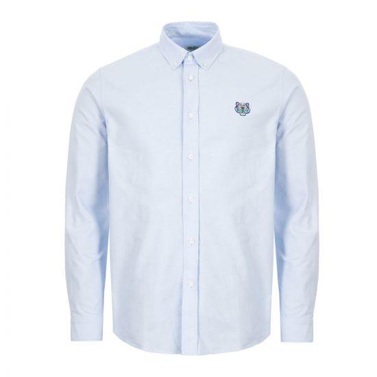 Kenzo Shirt Long Sleeve - Blue  21901CP -1