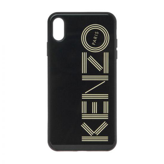 Kenzo iPhone Xs Max Case F96COKXSMKTG 99 In Black