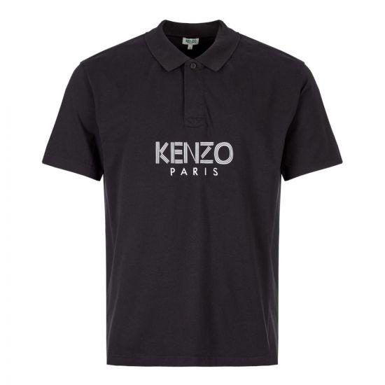 Kenzo Polo Shirt F965PO038 4BD 99 in Black