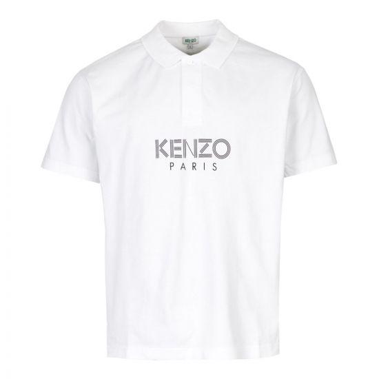 kenzo polo shirt F965PO038 4BD 01 white