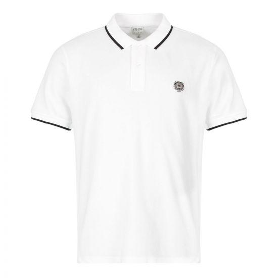 Kenzo Polo Shirt Tiger | F005PO201 4BA 001 White
